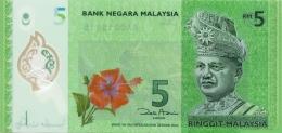 MALAYSIA 5 RINGGIT ND (2011) P-52 UNC  [ MY150a ] - Malaysia
