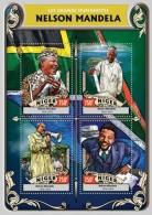 Z08 NIG16310a NIGER 2016 Nelson Mandela MNH - Niger (1960-...)