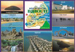 REPUBLIQUE DE DJIBOUTI MULTIVUES (dil271) - Dschibuti
