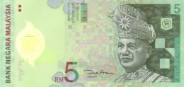 MALAYSIA 5 RINGGIT ND (2004) P-47a UNC  [MY145a] - Malaysia