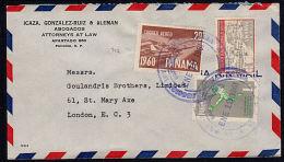 A0746 PANAMA 1961, Cover To UK - Panama