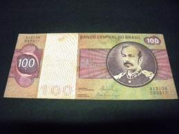 BRESIL 100 Cruzeiros 1970-1981 Pick N° 195A B, BRAZIL, - Brésil