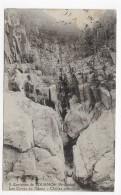 (RECTO / VERSO) ENVIRONS DE TOURNON EN 1926 - N° 8 - LES CUVES DU DUZON - CHUTES PRINCIPALE - BEAU CACHET - CPA - Tournon