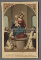 EM2393 SS. VERGINE DEL ROSARIO DI POMPEI ROSAIRE Santino Holy Card - Religión & Esoterismo