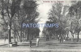 56010 CHILE SANTIAGO AVENIDA DE LAS DELICIAS POSTAL POSTCARD - Chile