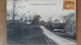 Plougonven. Entrée Du Bourg. Collection Mlle Tanguy - France