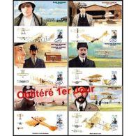 Bloc Souvenir N° 49 à 54 Oblitéré 1er Jour - Pionniers De L'aviation - Unclassified