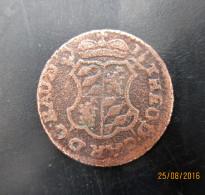 Évéché De Liège Frappe Au Nom De Jean-Théodore De Bavière, 1 Liard 1752,TB + - Belgique