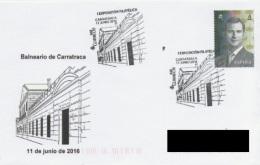 SPAIN. POSTMARK CARRATRACA SPA. 2016 - Marcofilie - EMA (Print Machine)
