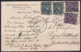 7976. Latvia 1923 Bodenwerder, Postcard - Lettonie