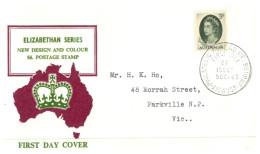 (619) Australia FDC Cover - 1963 - Queen Elizabeth - FDC