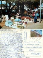 Market, Lautoka, Fiji Postcard Posted 1982 Stamp - Fiji (1970-...)