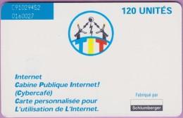 Tchad °° 21 - 120 Unités . Cybercafé - V - 0027 *** LUXE - Tsjaad