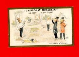 Chocolat Masson, Chromo Lith. Champenois, Une Affaire D'honneur, Duel - Chocolat