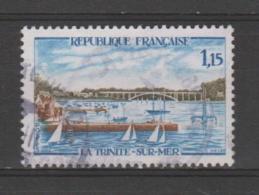 FRANCE / 1969 / Y&T N° 1585 : La Trinité-sur-Mer - Choisi - Cachet Rond - France
