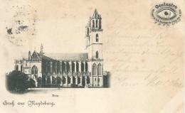 GRUSS AUS MAGDEBURG : DOM , OCULUSTRO .... - Magdeburg