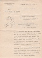 SOUS SECRETARIAT D ETAT DES PORTS DE LA MARINE MARCHANDE ET DES PECHES 1927 DEMANDE EN VUE D UN CONCOUR    TDA104 - Bateaux
