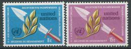 UNO NEW YORK 1973 Mi-Nr. 254/55 ** MNH (102) - New York -  VN Hauptquartier