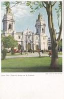 PERU - LIMA -PLAZA DE ARMAS CAN LA CATEDAL - Peru