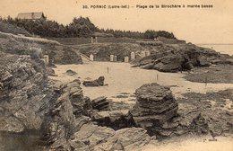 CPA 44 PORNIC  Plage De La Birochère à Marée Basse - Pornic