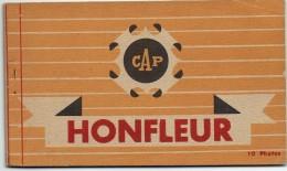 CPA - 14 - HONFLEUR - Carnet De 10 Cartes Photos Glacées -  Voir Liste - - Honfleur