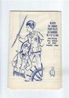 Patron Blazer En Lainage Pour Filles Ou Garçons De 4 Et 6 Ans De Mode Et Travaux N°2907 De Mars 1968 - Patrons