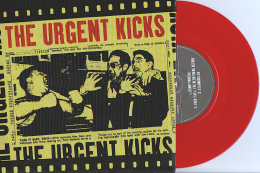 The URGENT KICKS - EP - FAST PUNK - ESPAGNE - Vinyl ROUGE - Punk