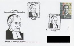 SPAIN. POSTMARK. LA SALLE. B.H. ESCUBILION. L'ALCORA 2016 - Marcofilie - EMA (Print Machine)