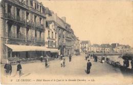 (10164-44) Le Croisic - Hôtel Masson Et Le Quai De La Grande Chambre - Le Croisic