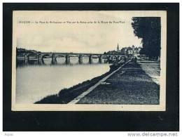 71  MACON  Le Pont De St-Laurent Et Vue Sur La Saone Prise De La Route Du Pont-Vert - Macon