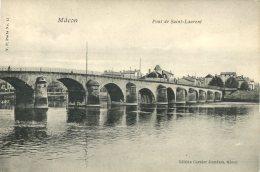 71  MACON  Pont  De Saint  Laurent - Macon