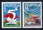 ALBANIA 1995  Democratic Movement Set Of 2   MNH / **.  Michel 2587-88 - Albania