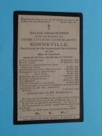 DP Z.E.H. Jozef - Livinus SONNEVILLE () Destelbergen 12 Sep 1823 - Gent 8 Dec 1897 ( Zie Foto's ) ! - Avvisi Di Necrologio
