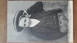 Petit Garçon De Plouguer Près Carhaix.costume Breton.  Duclos N ° 870 - Carhaix-Plouguer