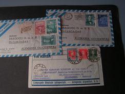 Argentina Lot 3 Air Mail Covers , 1934 -1954 - Briefe U. Dokumente