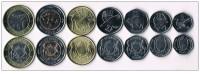 Botswana 2013. New Design Coin Set UNC - Botswana