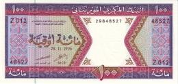 MAURITANIA 100 OUGUIYA 1996 P-4i UNC [MR104i] - Mauritania