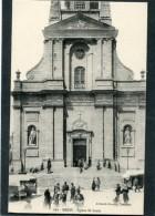 CPA - BREST - L'Eglise St Louis, Animé - Brest