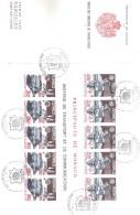 KKK36 MONACO 1988  Michl 1859/60 BLOCK 39 Auf FIRST DAY COVER FDC  Siehe ABBILDUNG - FDC