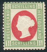 Helgoland Mi.-Nr.1 ND - Neudruck Mit Zertifikat, Feinst