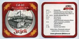 Sous-bock Tchèque - Tezek - Pivovar Jihlava CZ - Bière Beer Birra Birrë Alus Pivo Bier Cerveza - Sous-bocks