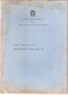Fascicolo ENTE NAZIONALE PER LA MUTUALITA' SCOLASTICA Fascista - 1933 - Diritto Ed Economia