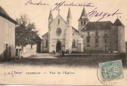 38 CORBELIN  Vue De L'Eglise - Corbelin