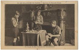 Scout Eclaireur De France Epreuves Jeu De Kim Rudyard Kipling Né à Bombay India Memorisation - Scouting