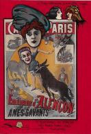 CPM LARDIE JIHEL Tirage Limité En 30 Exemplaires Signés Emilienne D'Alençon Asnières Cléo Sarah Bernhardt Ane - Lardie