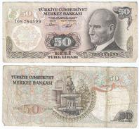 Turquía - Turkey 50 Lirasi 1976 (L1970), Firma I Pick 188(I) Ref 476 - Turquia