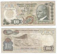 Turquía - Turkey 100 Lirasi 1972 (L1970) Pick 189.a(II) Ref 859 - Turquia