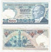 Turquía - Turkey 500 Lirasi 1983 (l 1970) Firma I Pick 195(I) Ref 864 - Turquia