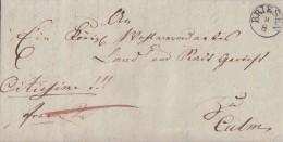 Brief K1 Briesen 9.8.1839 Gel. Nach Culm - Deutschland