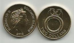 Solomon Islands 2 Dollars  2012. UNC KM#239 - Salomonen